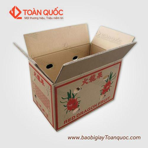 thùng carton đựng trái cây giá rẻ, thung carton dung trai cay gia re