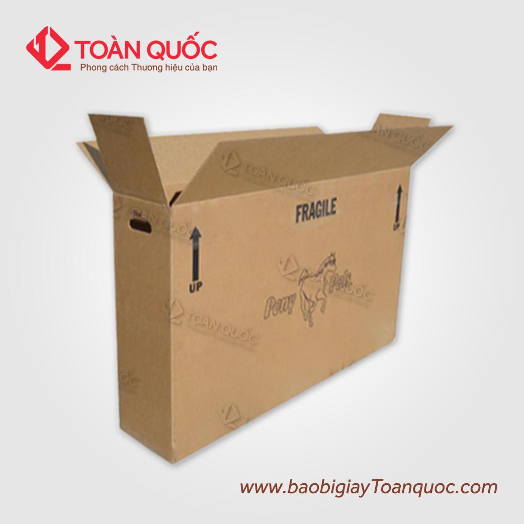 in thùng carton khổ lớn, in thung carton kho lon
